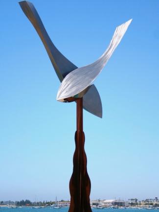 Ballenas, monumental sculpture art, Jon Koehler Sculpture, JKsculpture.com
