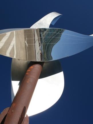 Ballenas, installation, monumental sculpture art, Jon Koehler Sculpture, JKsculpture.com
