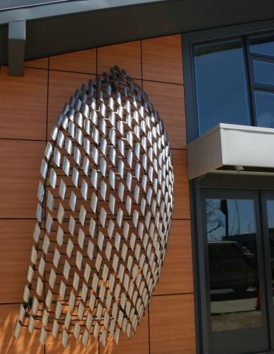 Billowing Bait public art