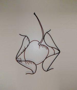 Cherry wall art view 1