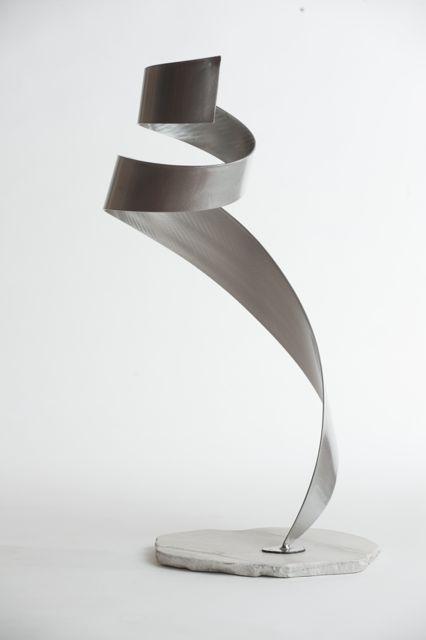 Transpire floor sculpture view 1