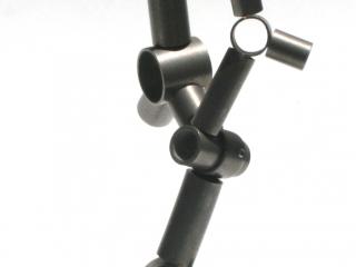 Pressure table top sculpture view 3