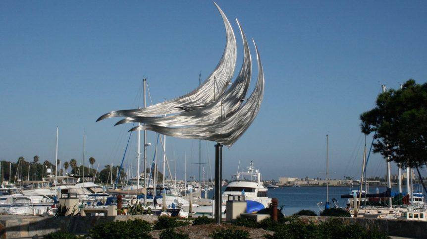 Freedom public art view 1